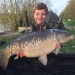 Josh Handley Mirror Victory Carp Lake